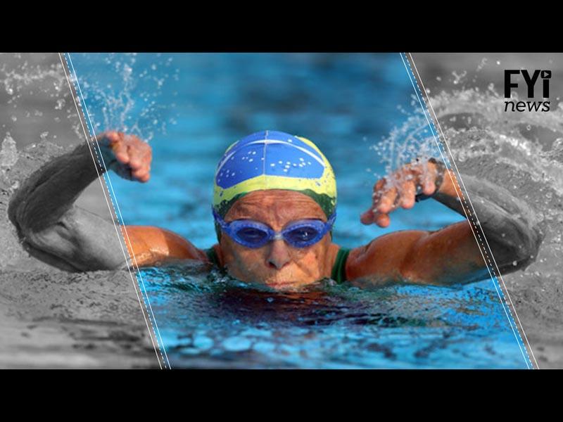 Nora Rónai, la campeona de natación con 93 años