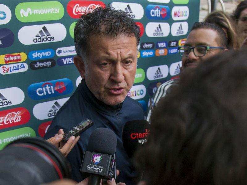 Osorio se declara en contra de amistosos sin jugadores top