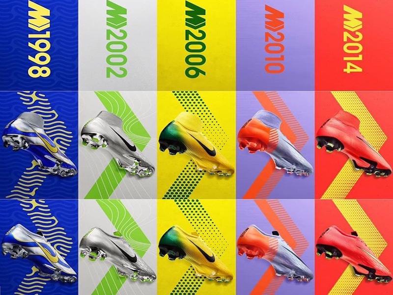 Nike Mercurial se pone retro antes del Mundial