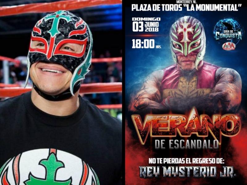 Rey Mysterio vuelve a la lucha libre AAA