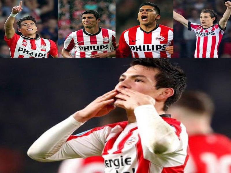 'Chucky' Lozano, quinto mexicano en coronarse con el PSV