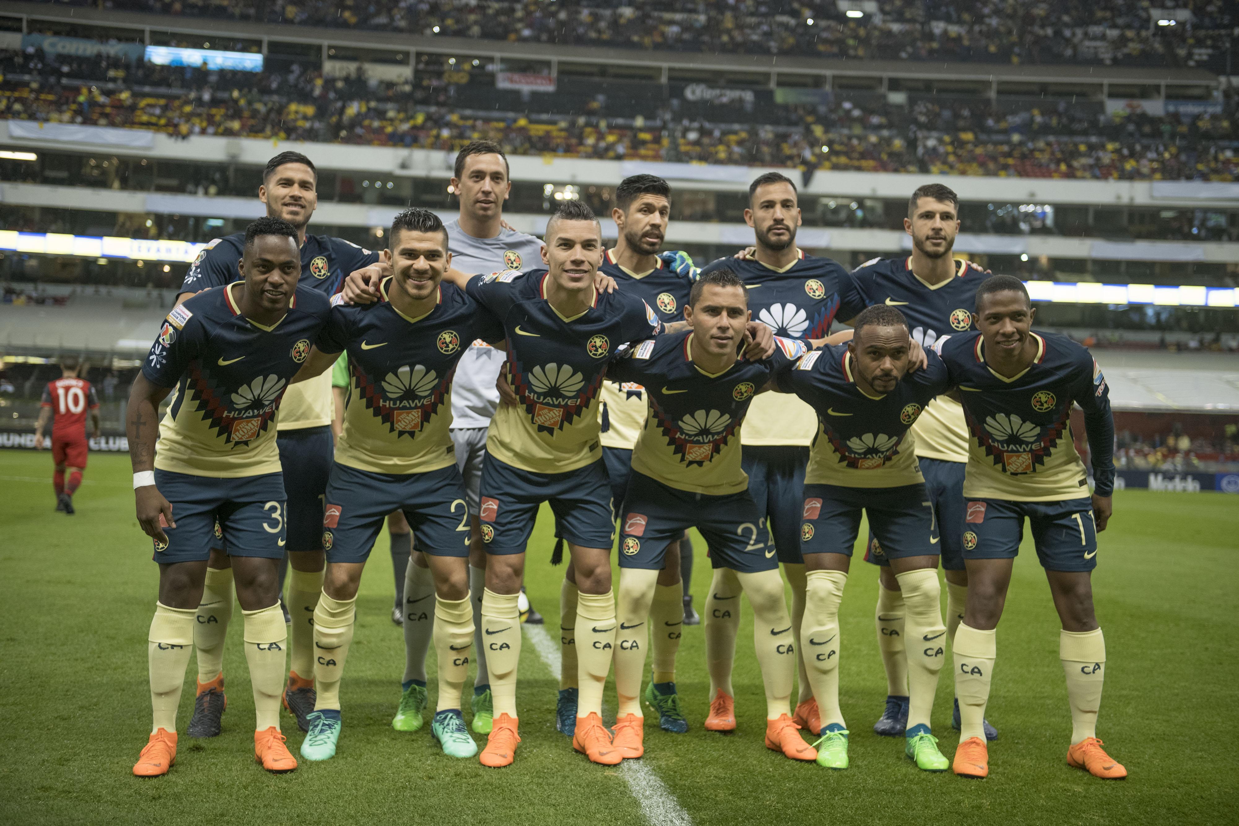 El 11 inicial de América para medirse ante Pumas en 4tos