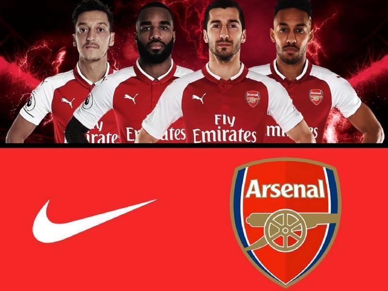 Nike entra a la batalla para patrocinar al Arsenal
