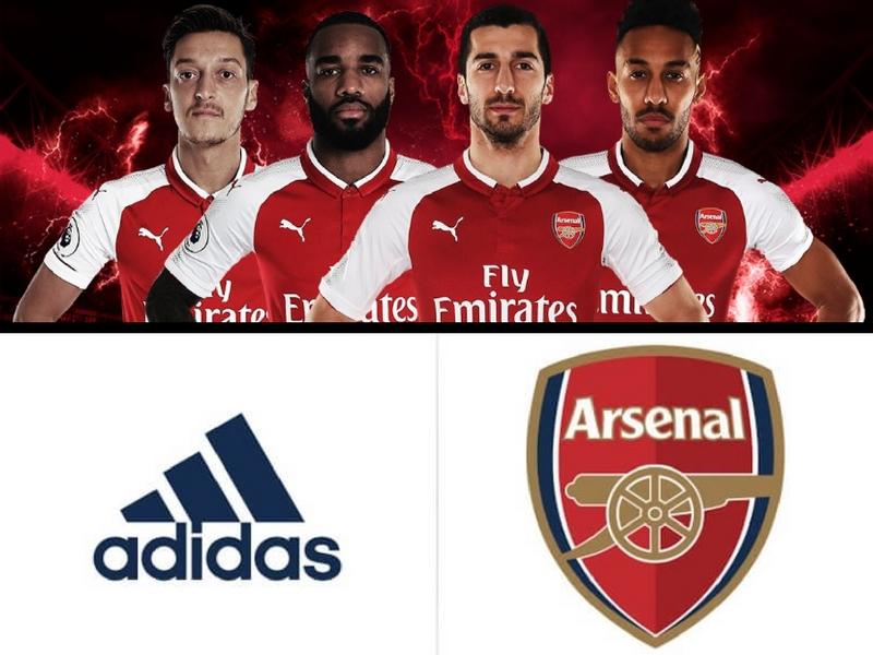 Arsenal traicionaría a Puma con Adidas