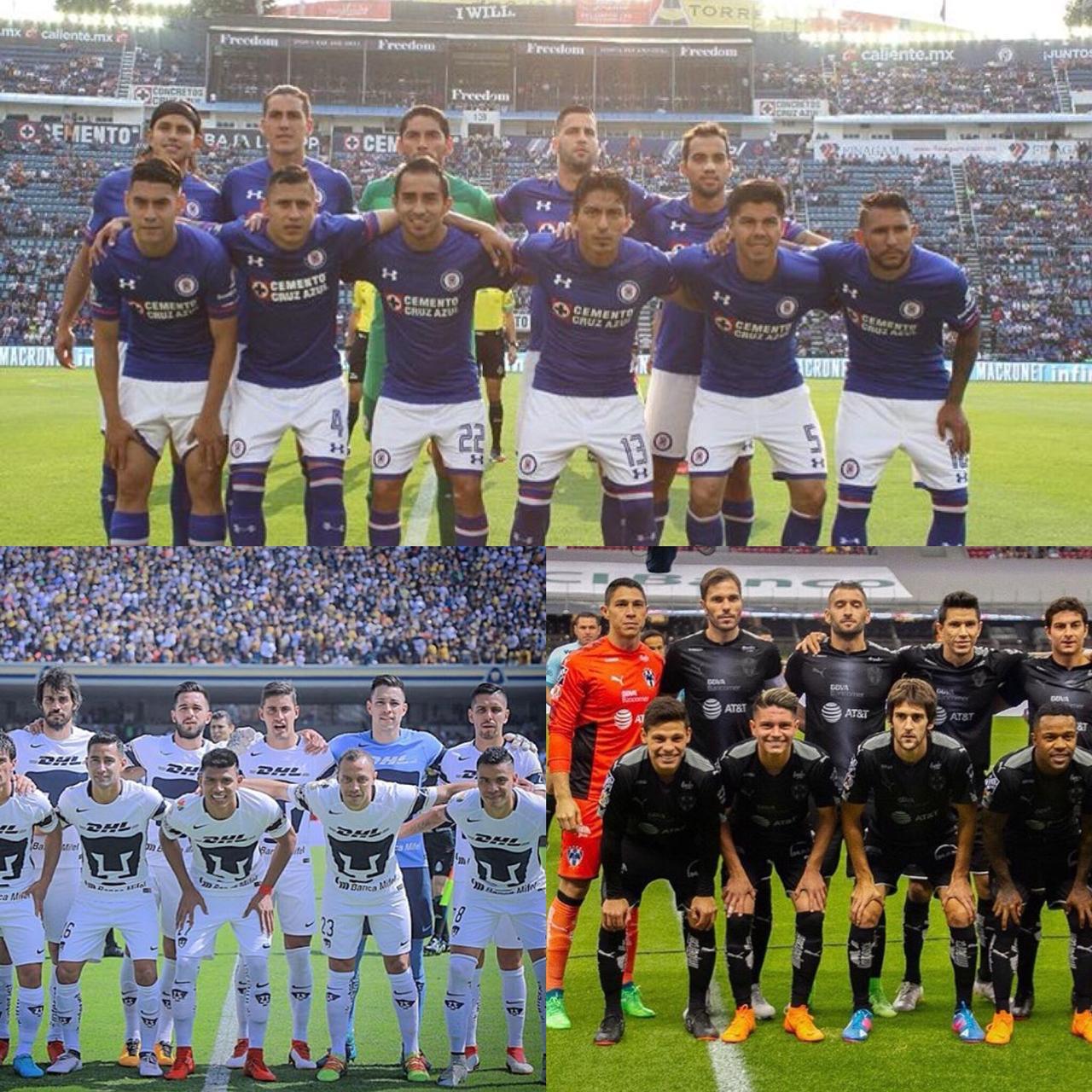 Expulsiones, el revulsivo para Pumas, Cruz Azul y Monterrey