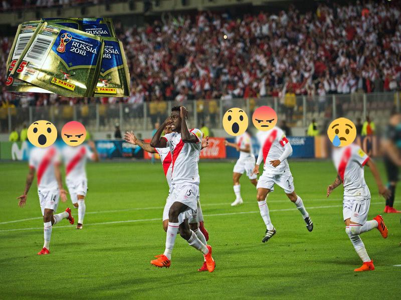 ¡Caos en Perú! Se les acabaron las estampas del Mundial