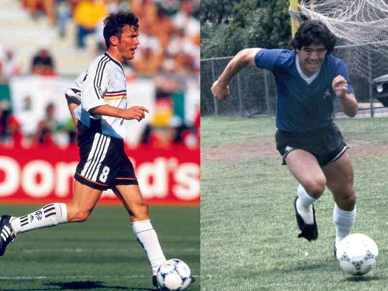 Maradona vs Matthaus, un duelo legendario