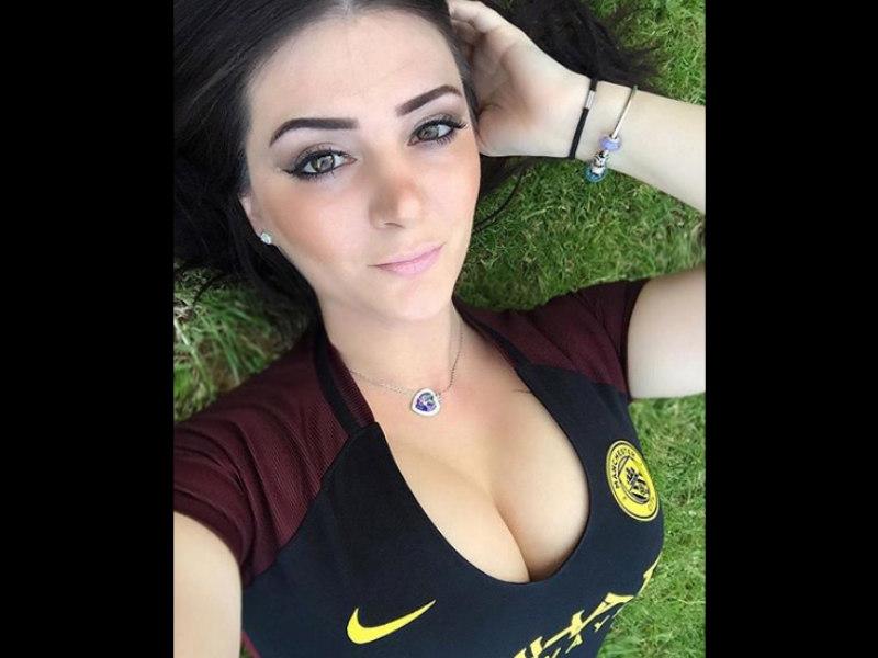 Stephi, la fan más candente del Manchester City