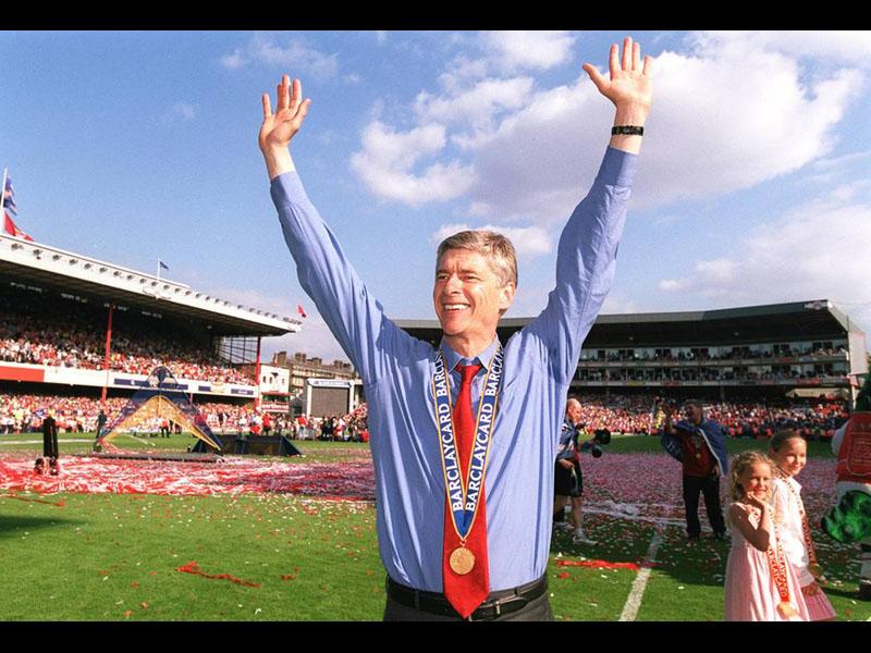 Arsène Wenger, una leyenda del banquillo 'gunner'