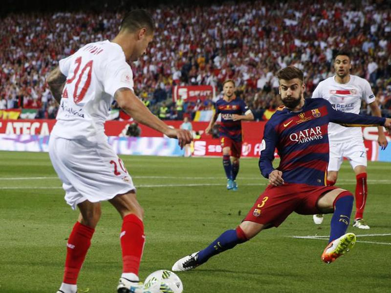 Barcelona va por doblete ante Sevilla de Layún