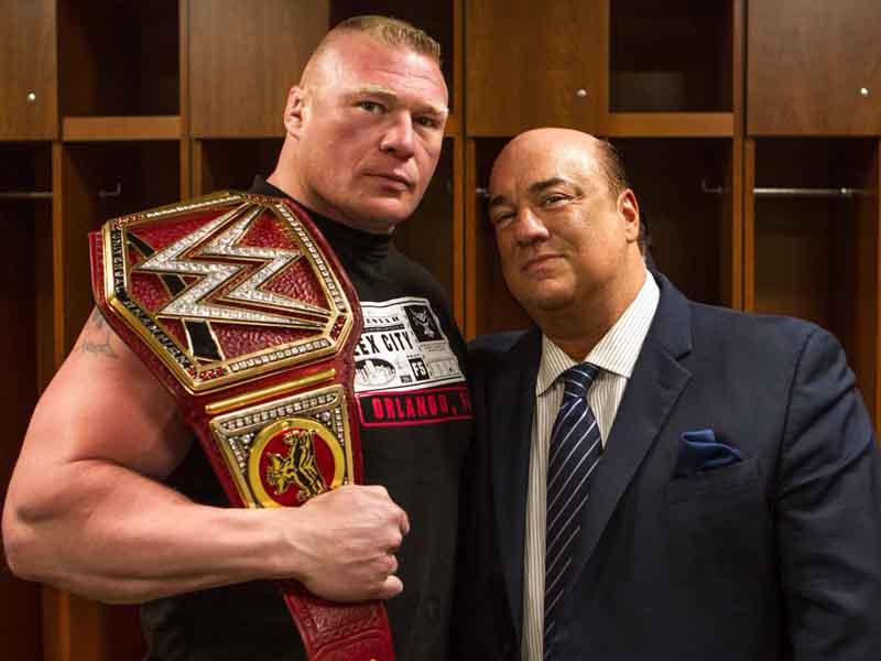 Brock Lesnar se queda en la WWE