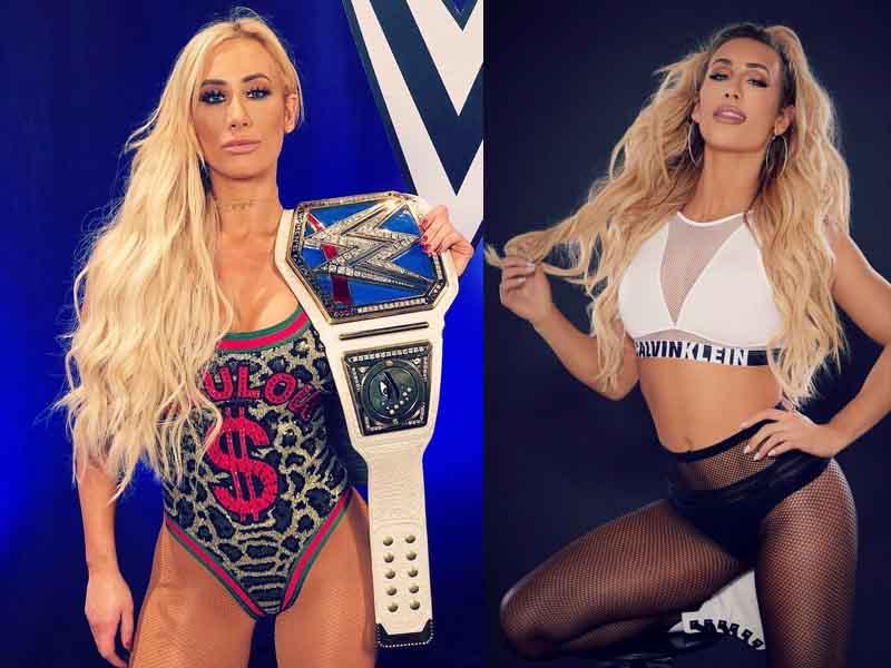 Carmella, la nueva sexy campeona de WWE