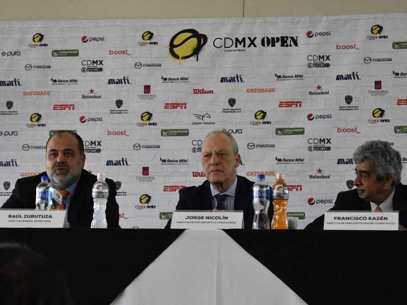 CDMX Open tendrá una bolsa de casi 2 millones de pesos