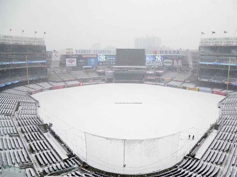 Yankees posponen presentación en casa por esta razón