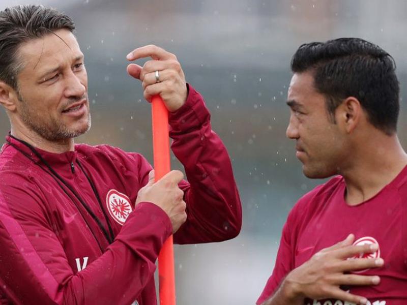 Marco Fabián, Salcedo y Eintracht se quedarán sin técnico