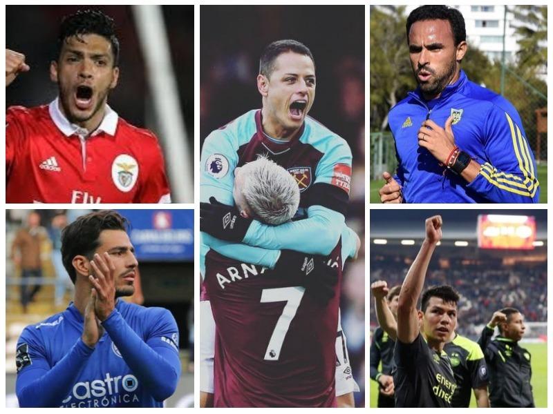 Goles mexicanos brillaron en ligas de Europa