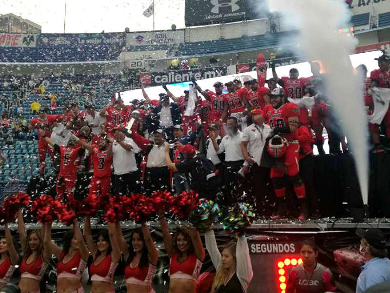 Mexicas, nuevo campeón de la LFA
