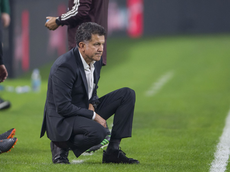 Osorio culpa a cultura mexicana de fracasos en el Tri