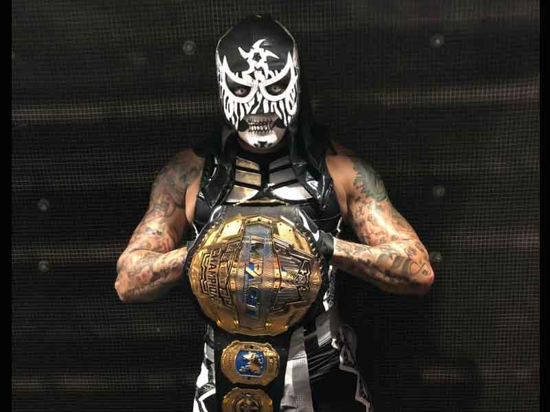 Pentagón Jr. comienza reinado en Impact Wrestling
