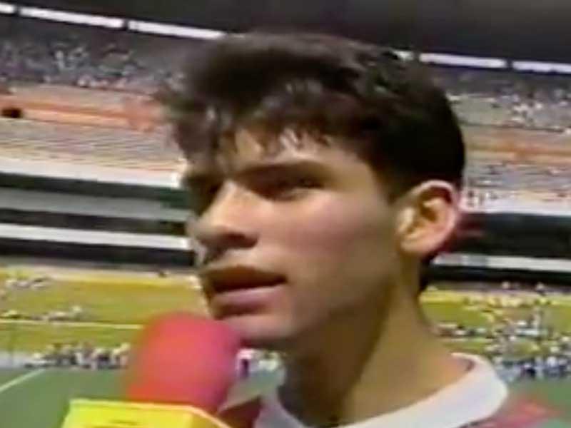 VIDEO: Márquez dijo esto hace 21 años tras debut con el Tri