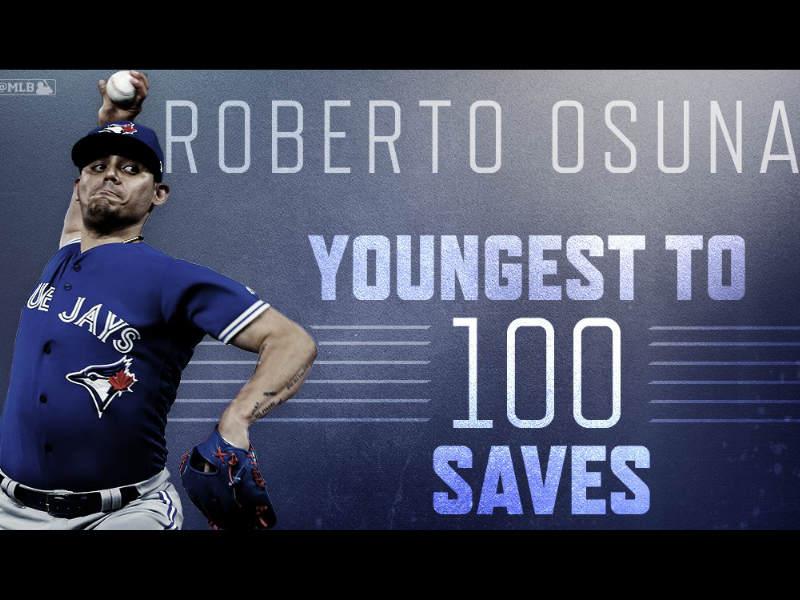 Roberto Osuna hace historia en Grandes Ligas