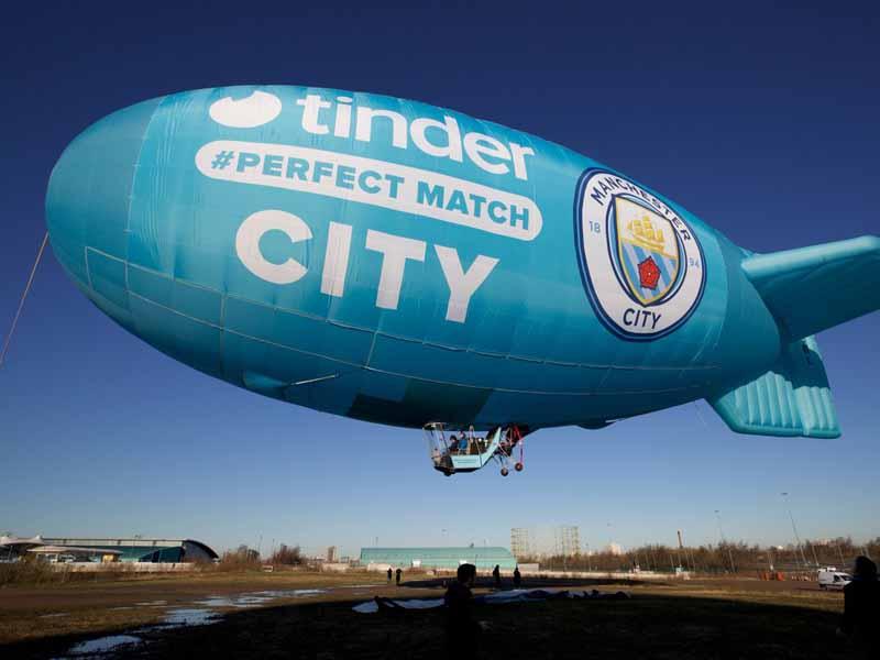Manchester City y Tinder anuncian alianza