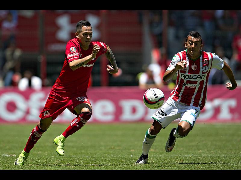 Necaxa y Toluca ya saben lo que es enfrentarse en una Final