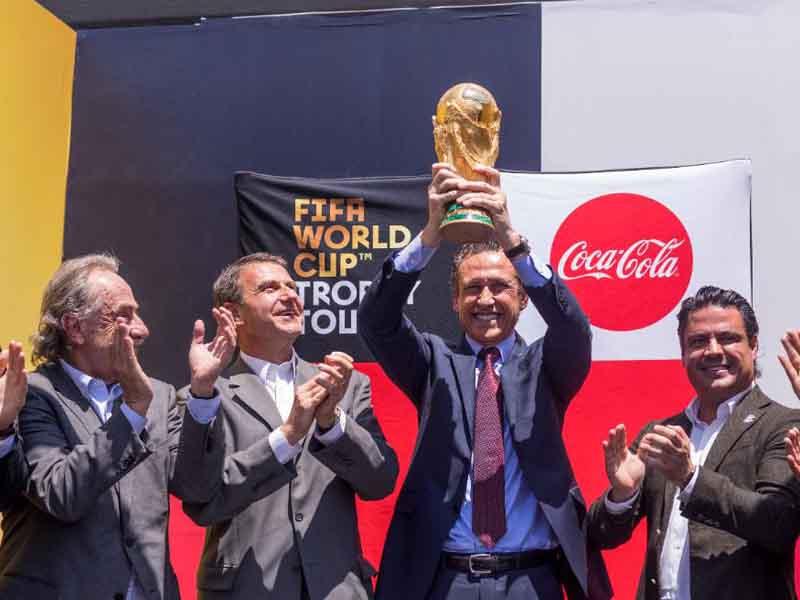 Copa del Mundo ya está en México