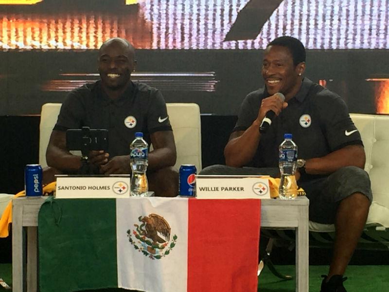 Steelers celebran Draft en México