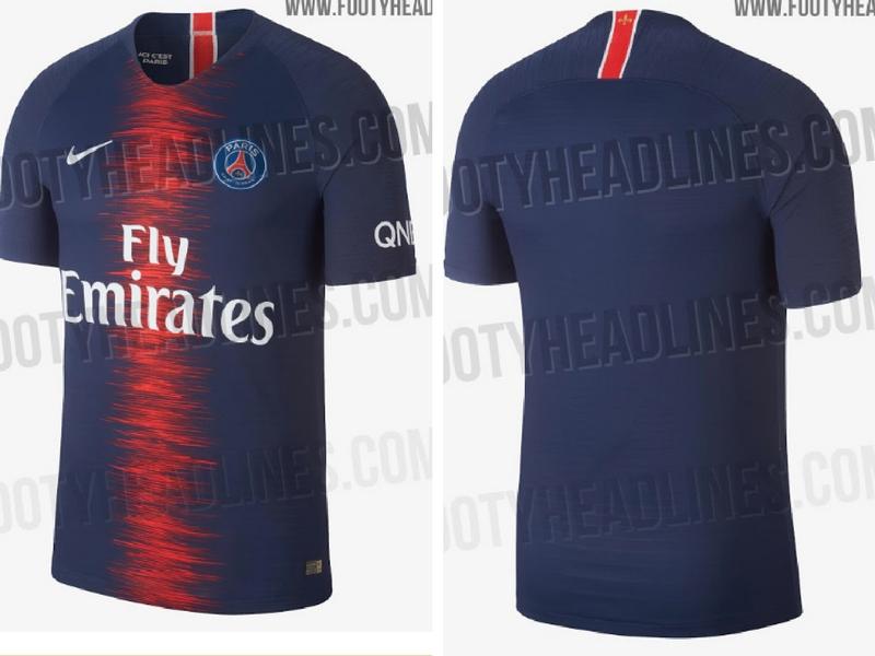Conoce el nuevo kit de local del PSG para la temporada 18/19