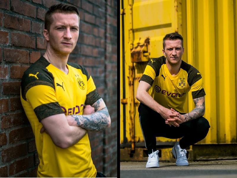 Borussia Dortmund revela kit temporada 2018-19