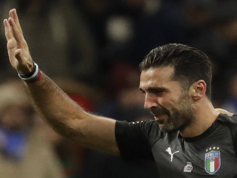 Buffon y sus logros con la Juve