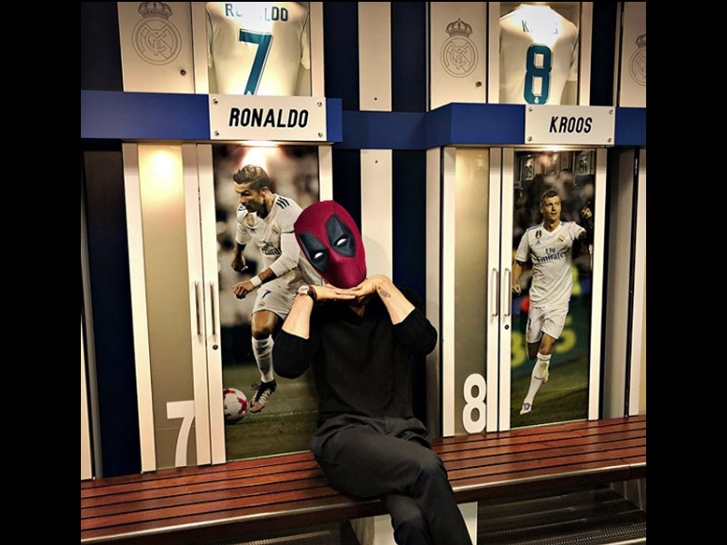 Deadpool y Thanos, fichajes de 'lujo' del Real Madrid