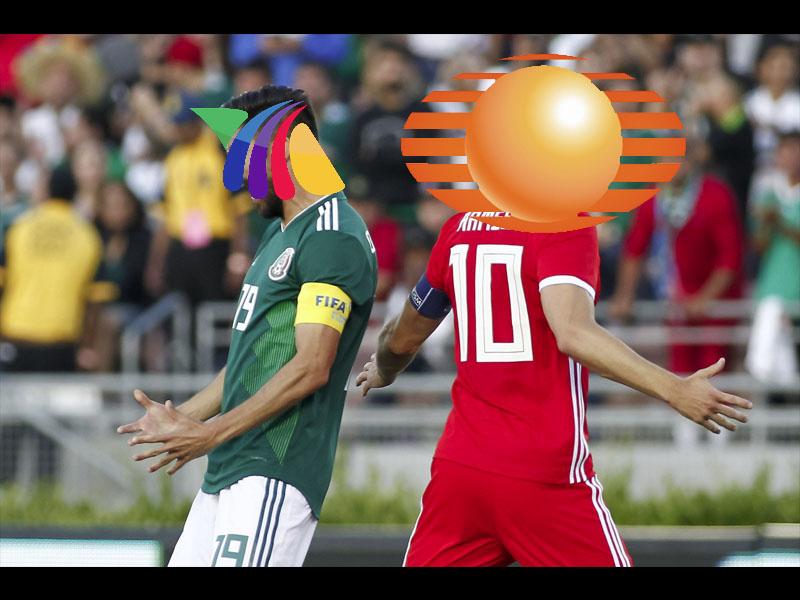 Televisa derrota a TV Azteca en raiting del México vs Gales