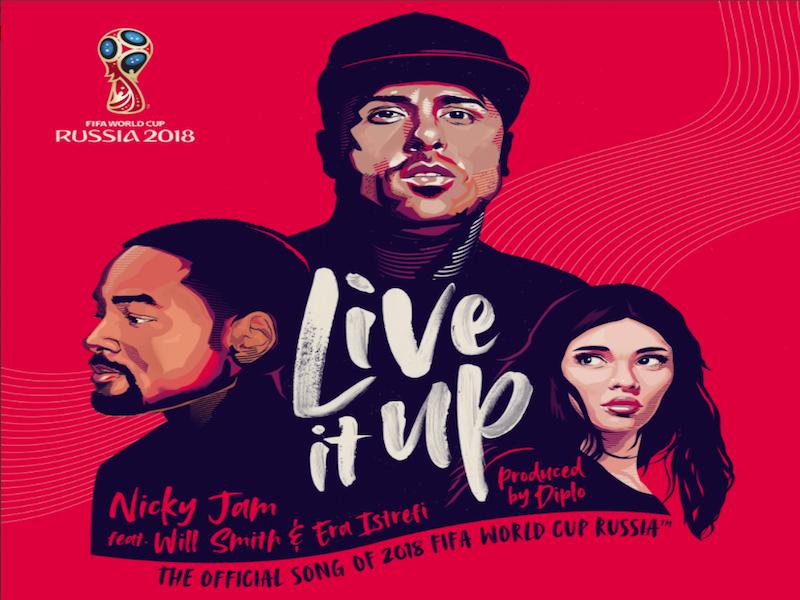 'Live it up', la canción oficial del Mundial