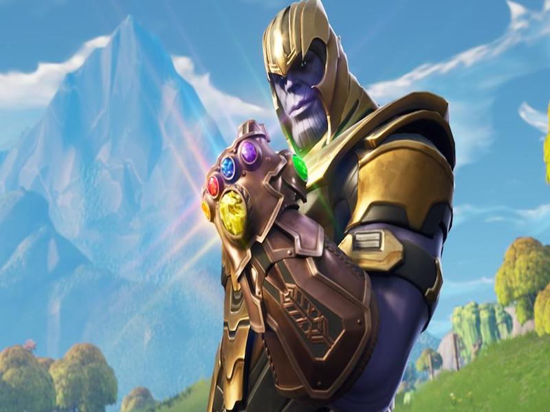 VIDEO: Thanos llega a Fortnite