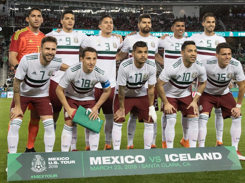 Definidos los números oficiales para seleccionados mexicanos