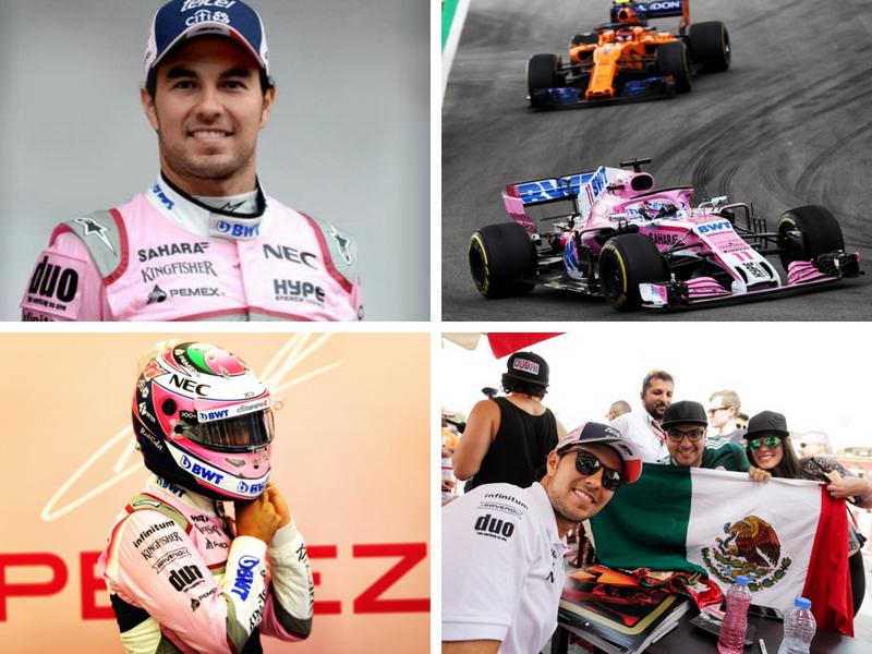 Mexicano Sergio Pérez confía en sumar puntos en el GP de Mónaco
