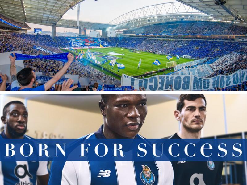 'Dragones' del Porto presentan 'piel' para 2018-19