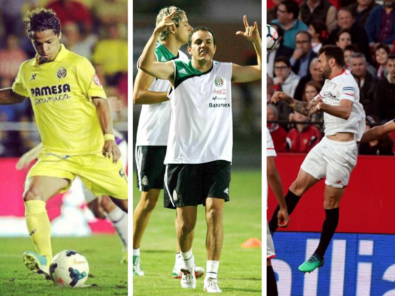 Mexicanos que le han metido gol al Real Madrid