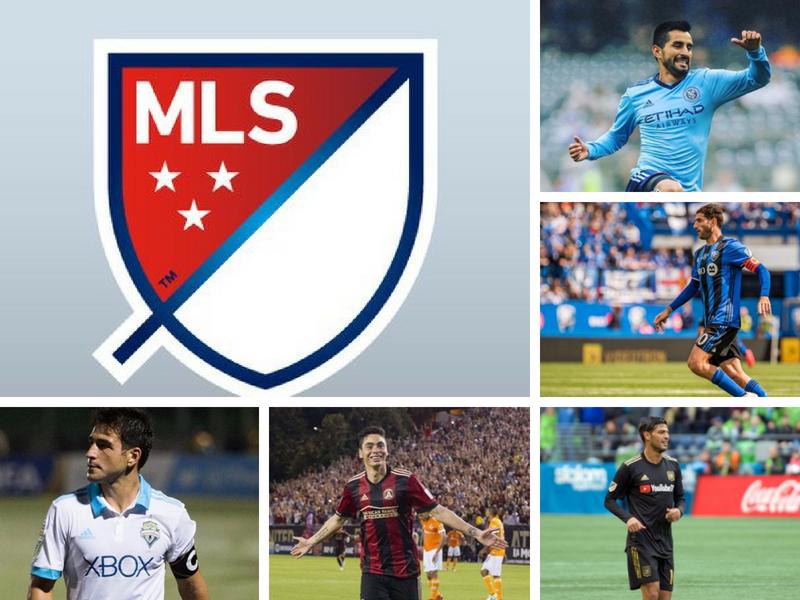 El talento de la MLS está en los sudamericanos