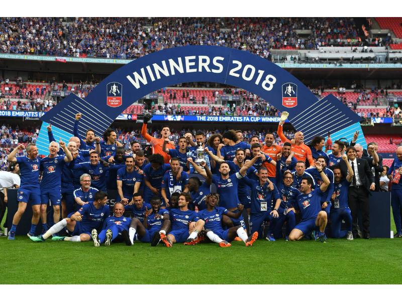 Londres se pinta de azul, ¡Chelsea Campeón de la FA Cup!