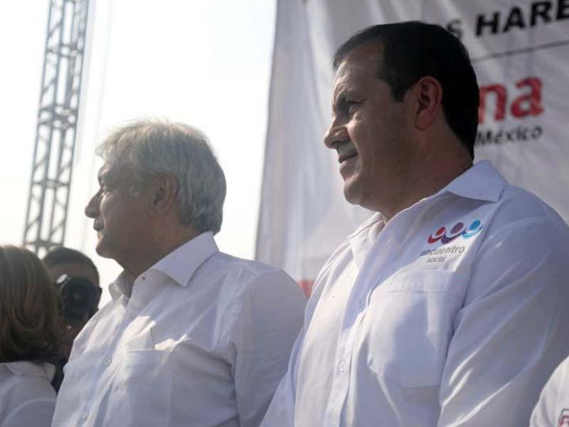 AMLO pronostica 'goliza' en Morelos con Cuauhtémoc Blanco