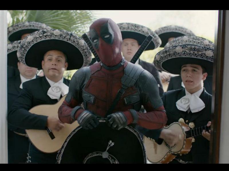 Deadpool le pide disculpas a Beckham con mariachi