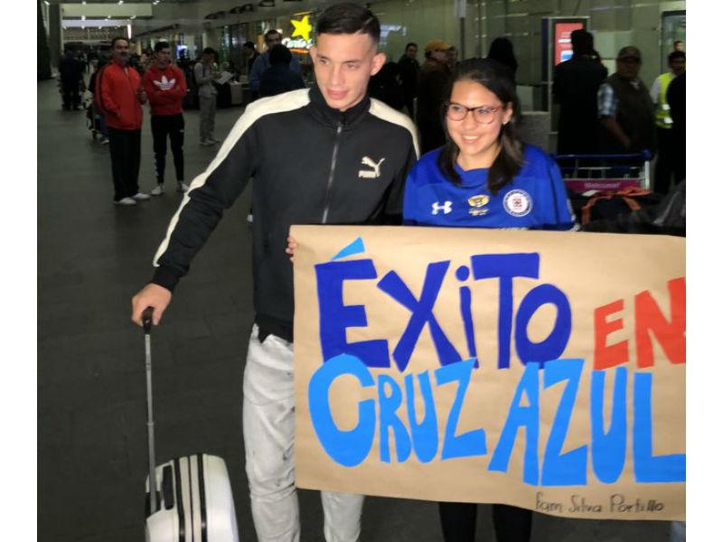 Iván Marcone, la 'BOMBA' de Cruz Azul, está en México