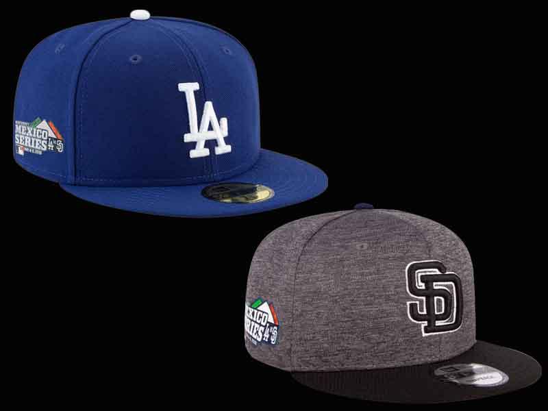 La 'Mexico Series' entre Dodgers y Padres llega con esta colección de gorras