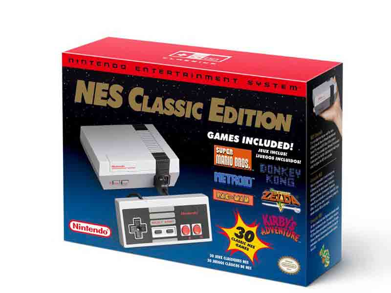 Nintendo confirma que el NES Mini regresará en junio