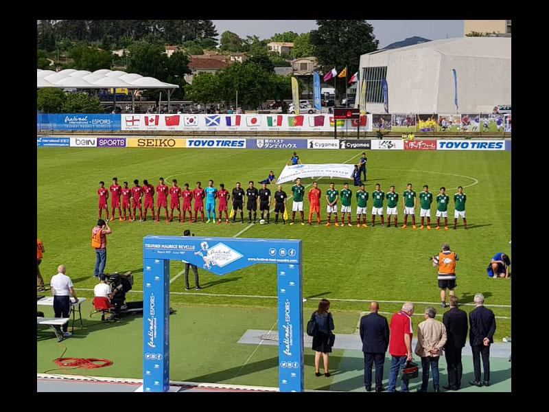 Tri tiene debut goleador en el Torneo Esperanzas de Toulon