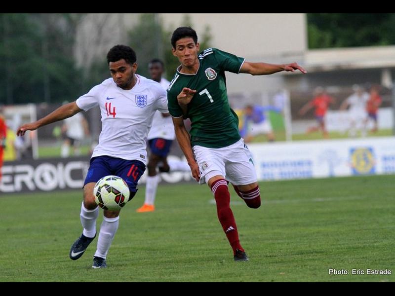 Inglaterra vence a México en Torneo Esperanzas de Toulon