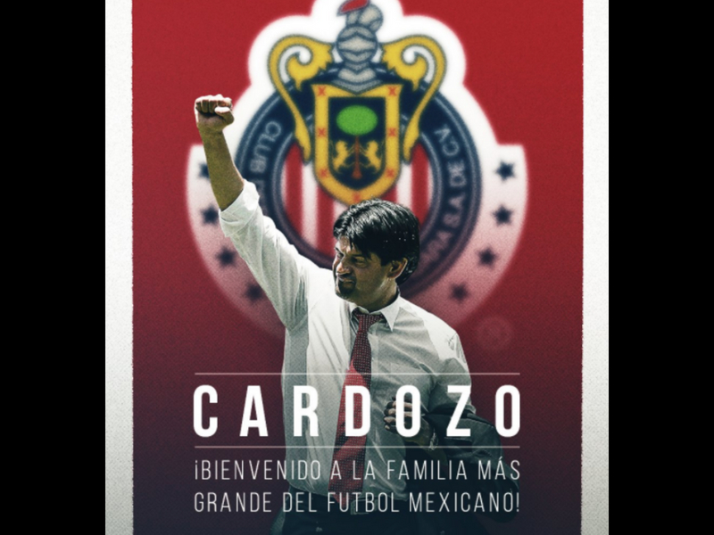Cardozo, nuevo DT de Chivas